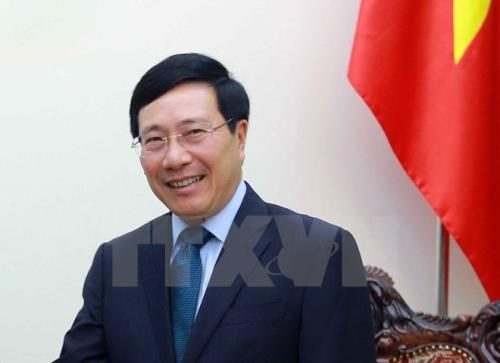 Deputy Prime Minister Pham Binh Minh to visit Japan hinh anh 1