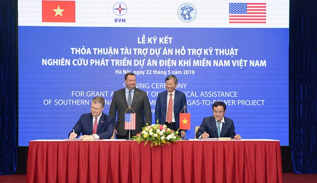 US grants 1.4 million USD for gas-to-power development in southern Vietnam hinh anh 1