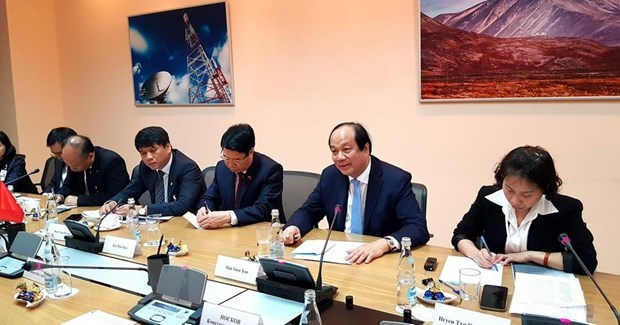 Vietnam, Russia foster cooperation in e-government building hinh anh 1