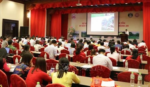 Conference reviews preservation of Trang An complex hinh anh 1