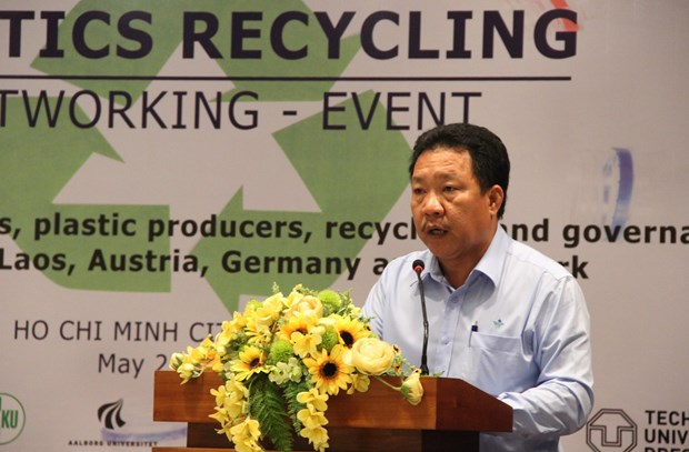 Workshop advocates plastic recycling networking hinh anh 1