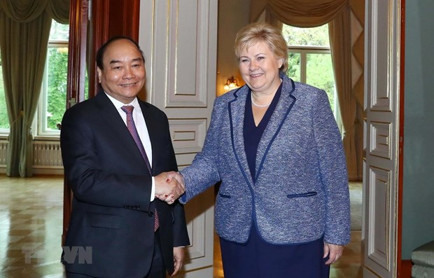 Norway – Vietnam's important partner in Northern Europe: PM hinh anh 1