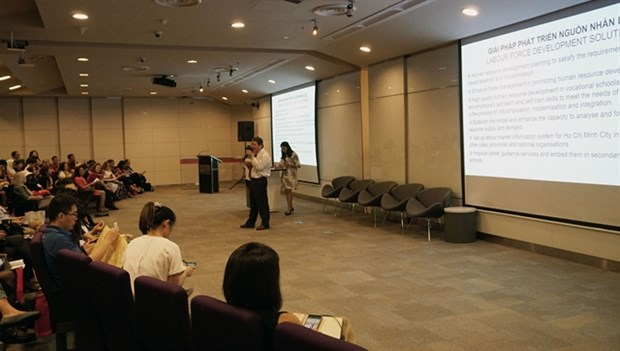 Regional forum discusses career development ideas in Industry 4.0 era hinh anh 1