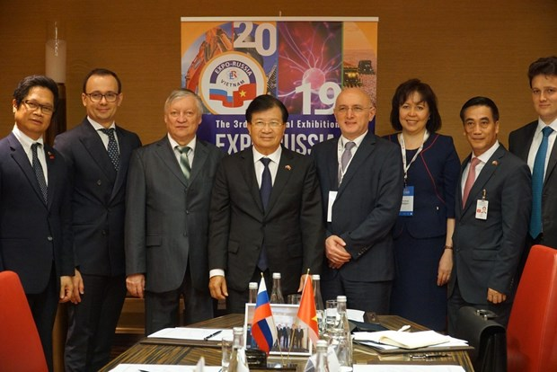 Vietnam, Russia discuss celebrations of bilateral ties hinh anh 1