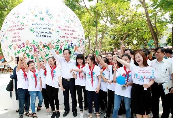 Action Month for Children 2019 launched in Thanh Hoa hinh anh 1