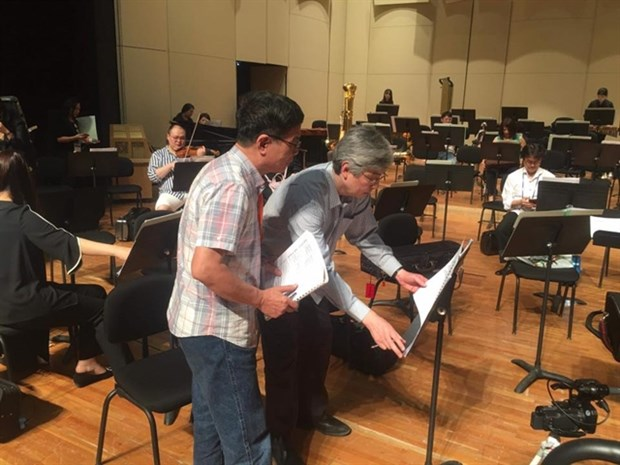 Vietnamese folk music finds its way to Beijing Modern Music Festival hinh anh 1