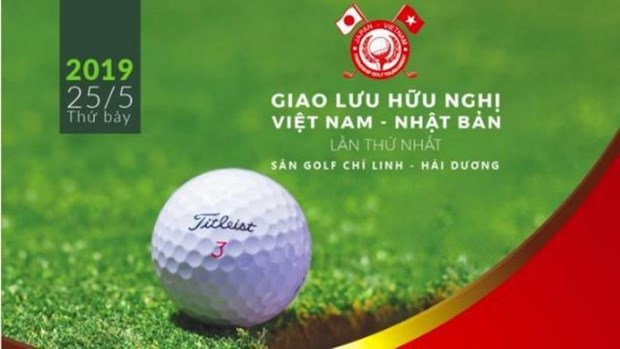 Vietnam-Japan Friendship Golf Tournament tees off in Hai Duong hinh anh 1