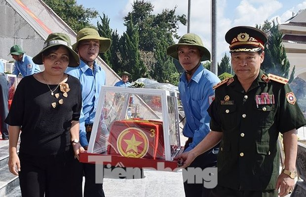 Martyrs in Laos, Cambodia laid to rest in Kon Tum province hinh anh 1
