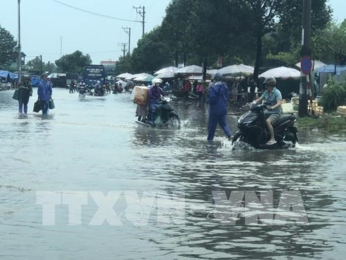 Quang Ninh: Rain-caused flooding leaves one missing hinh anh 1
