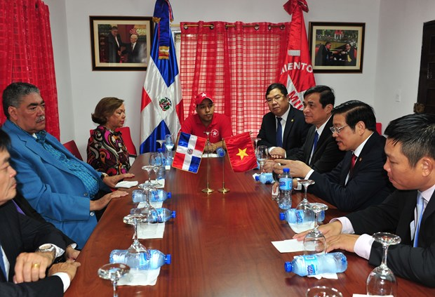 Party delegation visits Dominican Republic to cement ties hinh anh 1