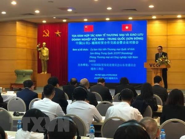 Vietnamese firms seek improved ties with Chinese peers hinh anh 1