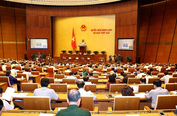 Three draft laws under discussion on May 28 hinh anh 1