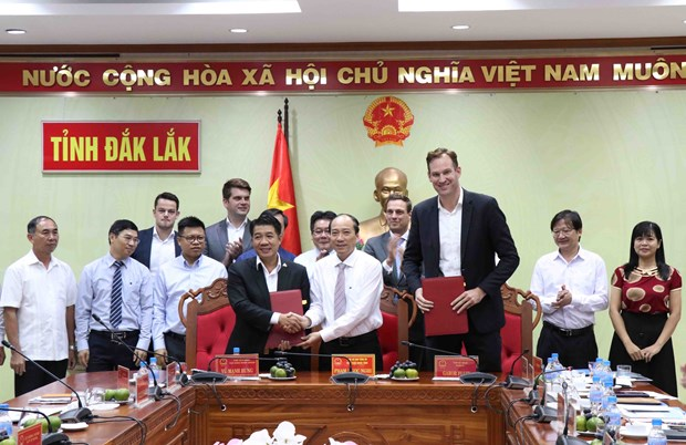 66 million USD invested in Dak Lak hi-tech agricultural park complex hinh anh 1