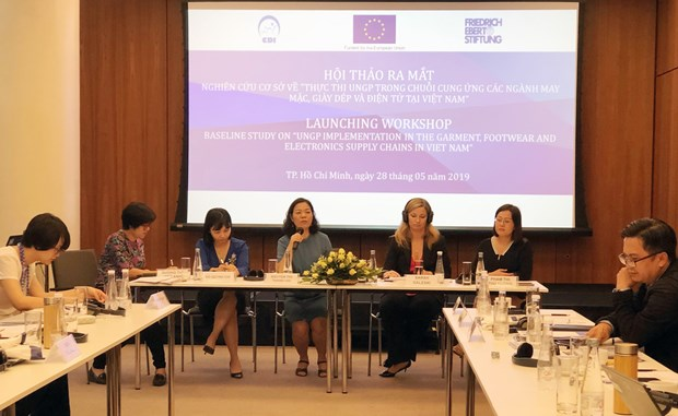 Baseline study focuses on corporate responsibility for human rights hinh anh 1