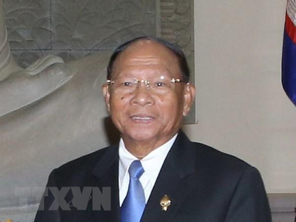 Top Cambodian legislator begins official visit to Vietnam hinh anh 1