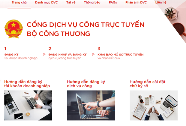 MoIT goes online for administrative procedures hinh anh 1