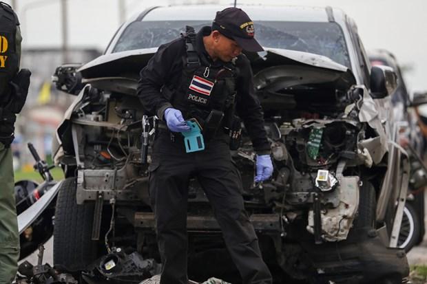 Bomb attacks kill three in southern Thailand hinh anh 1