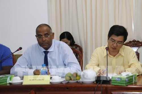 Can Tho, Ivory Coast discuss agriculture cooperation hinh anh 1