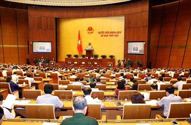 NA deputies scrutinise Labour Law hinh anh 1