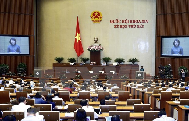 NA deputies discuss more proposals, reports on May 29 hinh anh 1
