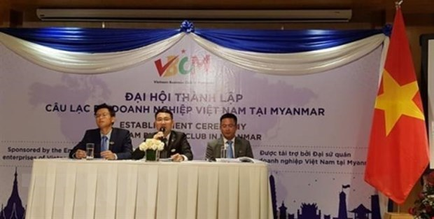 Vietnamese Business Club in Myanmar set up hinh anh 1