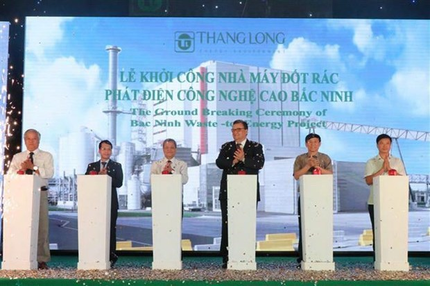Work starts on waste-to-power plant in Bac Ninh hinh anh 1