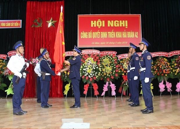 New squadron of Coast Guard Region 4 established hinh anh 1