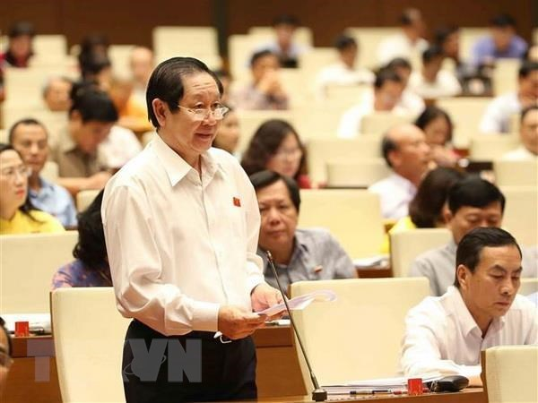 Ninth working day of 14th NA's seventh session hinh anh 1