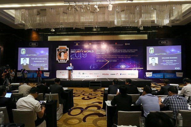 Conference looks to strengthen cyber security for public, financial-banking sectors hinh anh 1