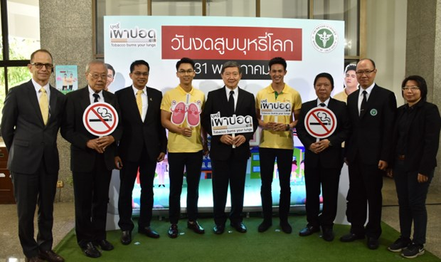Thai health ministry announces World No Tobacco Day activities hinh anh 1