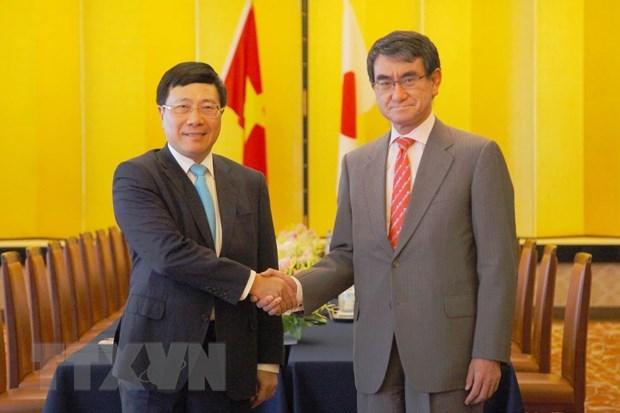 Vietnam, Japan agree to expand economic bond hinh anh 1