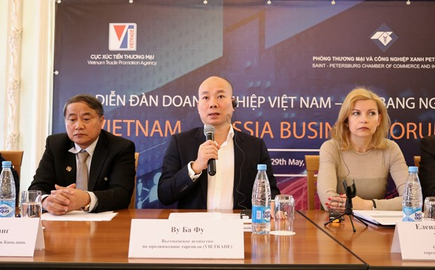 Vietnam-Russia business forum helps forge bilateral links hinh anh 1