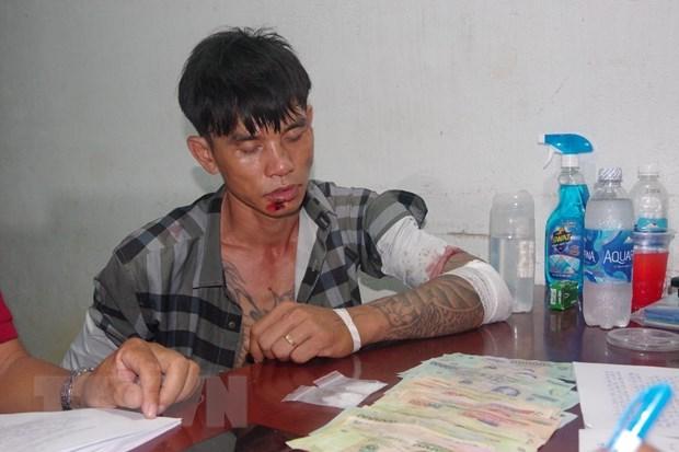 Ba Ria-Vung Tau border guards raid drug trafficking ring hinh anh 1