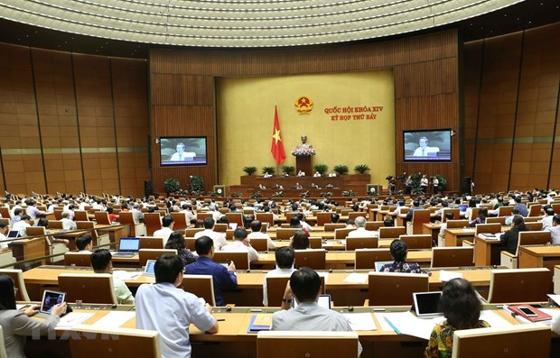 Ministers highlight economic difficulties at NA's seventh session hinh anh 1