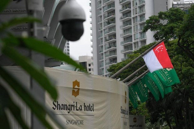 Singapore tightens security for Shangri-La Dialogue hinh anh 1