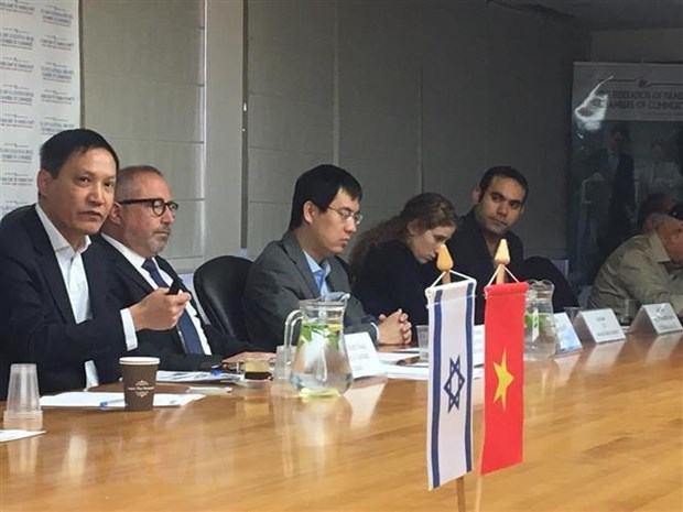 Workshop promotes Vietnam-Israel trade cooperation hinh anh 1