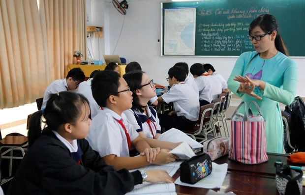 Campaign launched to stop school violence, child abuse hinh anh 1
