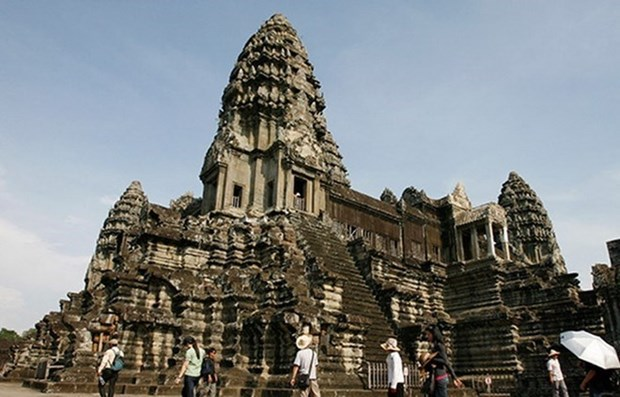 Foreign visits to Cambodia's Angkor down 7.3 pct in 5 months hinh anh 1