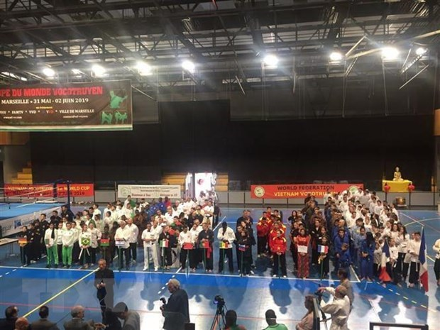 First Vietnamese martial arts world cup held in French city hinh anh 1