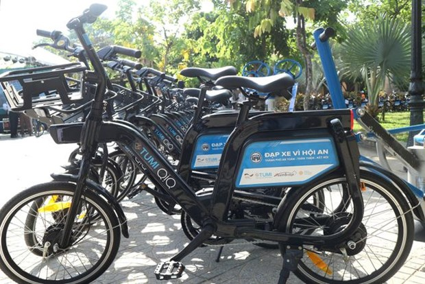 Bicycle sharing programme launched in Hoi An hinh anh 1
