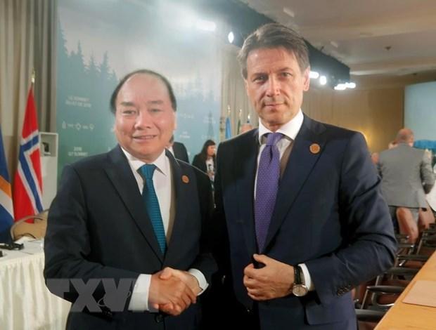 Italian PM's Vietnam visit hoped to bolster bilateral partnership hinh anh 1