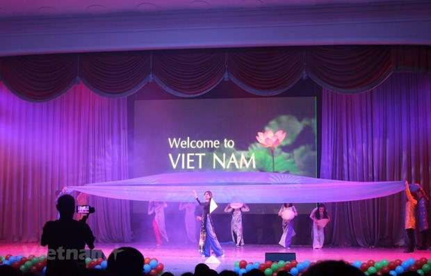 Vietnamese woman shines at beauty contest in Russia hinh anh 1