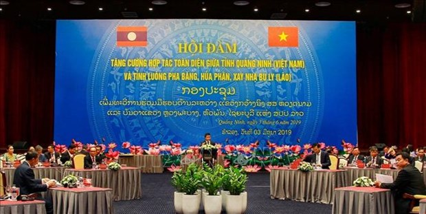 Quang Ninh, Lao northern provinces look to expand cooperation hinh anh 1