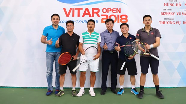 Tennis tournament for Vietnamese players to be held in Russia hinh anh 1