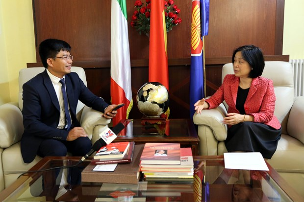 Vietnam-Italy relations on positive development hinh anh 1