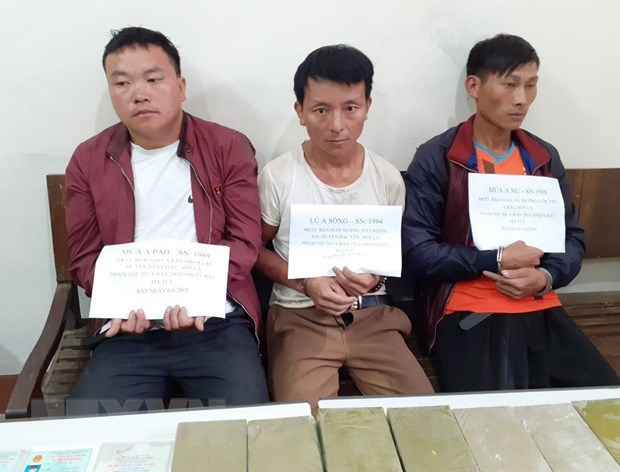 Son La: three arrested for drug smuggling hinh anh 1