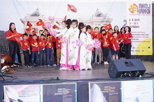 Festival promotes Vietnam-Czech culture exchange hinh anh 1