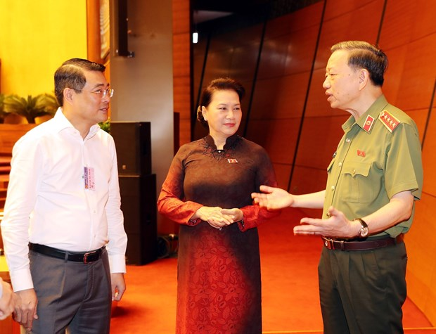 Public security minister first to field questions by NA deputies hinh anh 1