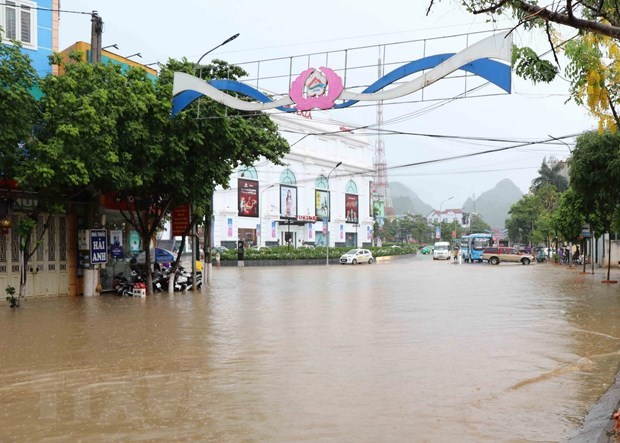 Natural disasters leave four dead, missing hinh anh 1