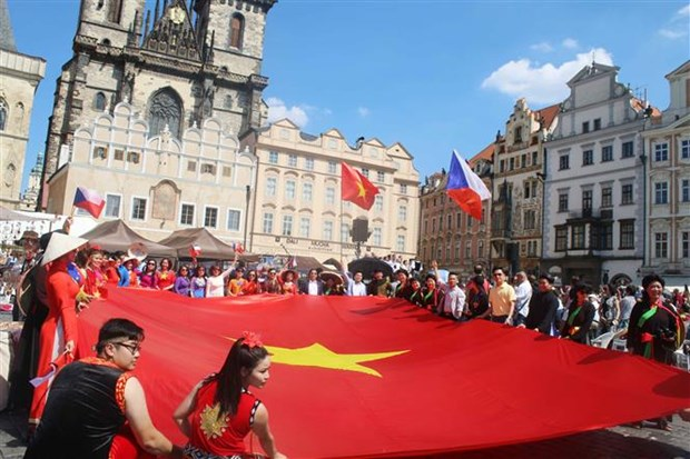 Vietnamese community represented at multiethnic festival in Czech Republic hinh anh 1
